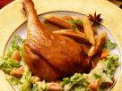 Braised Goose with Potato Gnocchi and Savoy Cabbage recipe