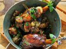 Braised Lamb Shanks with Jerusalem Artichokes recipe