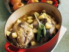 Braised Pheasant with Apples recipe