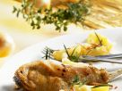 Braised Rabbit Legs with Rosemary Potatoes recipe