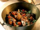 Game Meat Stew with Cherry Tomatoes recipe