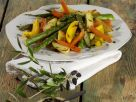 Braised Vegetables with Olive Paste recipe
