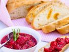 Bread with Apricots and Raspberry-rosemary Compote recipe