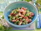 Broad Bean Salad with Tomato and Chives recipe
