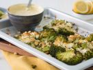 Broccoli Au Gratin with Curry Dip recipe