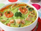 Broccoli Flan with Turkey recipe