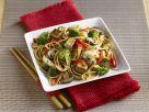 Broccoli, Mushroom and Tofu Noodles recipe