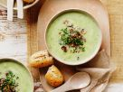 Broccoli Soup with Zucchini and Mushrooms recipe