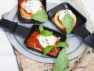 Broiled Polenta Caprese recipe