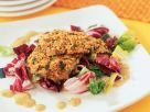 Broiled Trout on Salad recipe