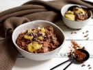 Buckwheat Cereal with Banana-chocolate Topping recipe