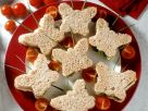 Butterfly Sandwiches with Smoked Salmon and Horseradish recipe
