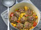 Butternut Squash Chili with Meatballs recipe