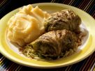 Cabbage Rolls with Mashed Potatoes recipe