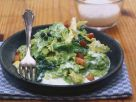 Cabbage with Bacon-Cream Sauce recipe