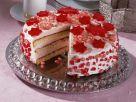 Campari Torte with Pomegranate Seeds recipe