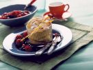Caramel Quark Pudding with Berries recipe