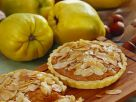 Carrot and Quince Tarts with Sliced Almonds recipe