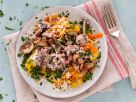 Carrot Noodles with Mushrooms recipe