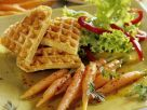 Carrots with Waffles recipe