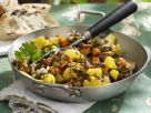 Cauliflower with Lentils and Chanterelles recipe