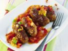 Cevapcici with Vegetable Sauce recipe