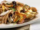 Chanterelle and Parmesan Pasta recipe