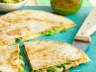 Cheese and Onion Quesadillas recipe