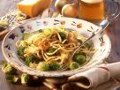 Cheese Noodles with Brussels Sprouts recipe