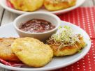 Cheese Patties with Dip recipe