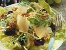 Nutty Grape Salad with Leaves recipe