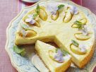 Cheesecake with Apples and Crumbled Biscuits recipe