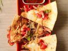Cheesy Bean Veggie Quesadilla recipe