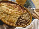 Cheesy Meat and Fermented Cabbage Bake recipe
