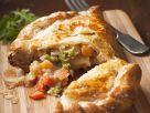 Cheesy Vegetable Pasty recipe