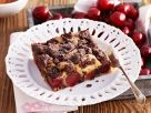 Cherry Crumble Cake recipe
