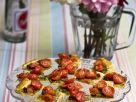Cherry Tomato Puff Pastry Slices recipe