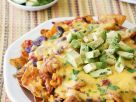 Chicken and Avocado Nachos recipe