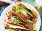 Chicken and Chickpea Soft Tacos recipe