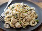Chicken and Parmesan Spaghetti recipe