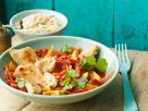 Chicken Breast with Avocado, Bell Peppers and Cilantro recipe
