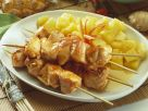 Chicken Kebobs with Spicy Pineapple Sauce recipe