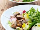 Chicken Livers and Salad recipe