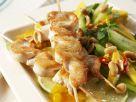 Chicken Skewers with Mango Salad recipe