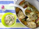 Chicken Stewed with Pumpkin recipe