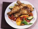 Chicken Wings with Vegetables recipe