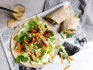 Chicken Wrap with Peanut Sauce recipe