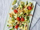 Mixed Vegetable Chickpea Salad with Cilantro Dressing recipe