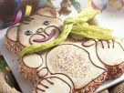 Chidren's Teddy Bear Cake recipe