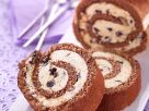 Chocolate and Almond Swiss Roll recipe